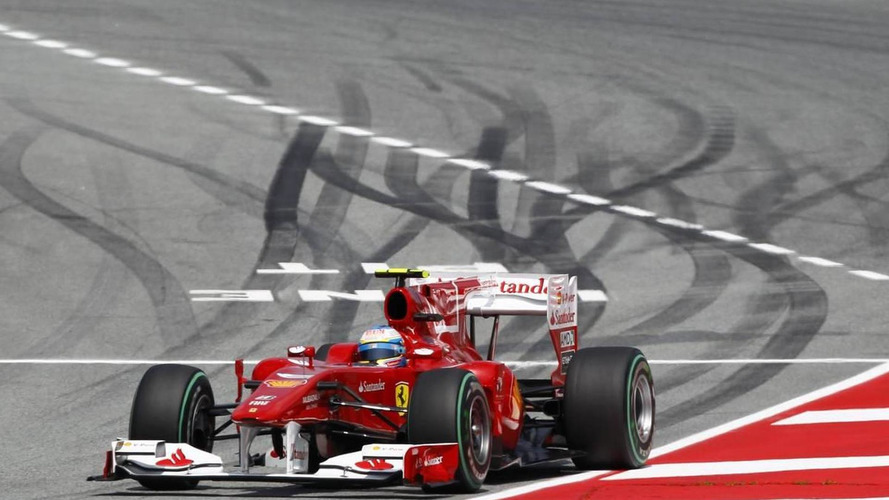 Ferrari fined $20,000 for Alonso-Rosberg near-miss