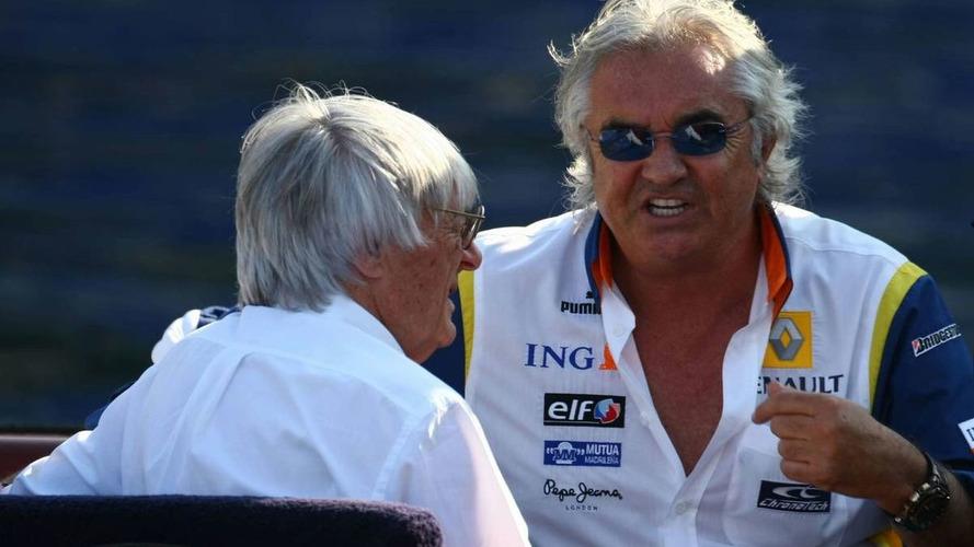 Ecclestone warns Briatore against legal action
