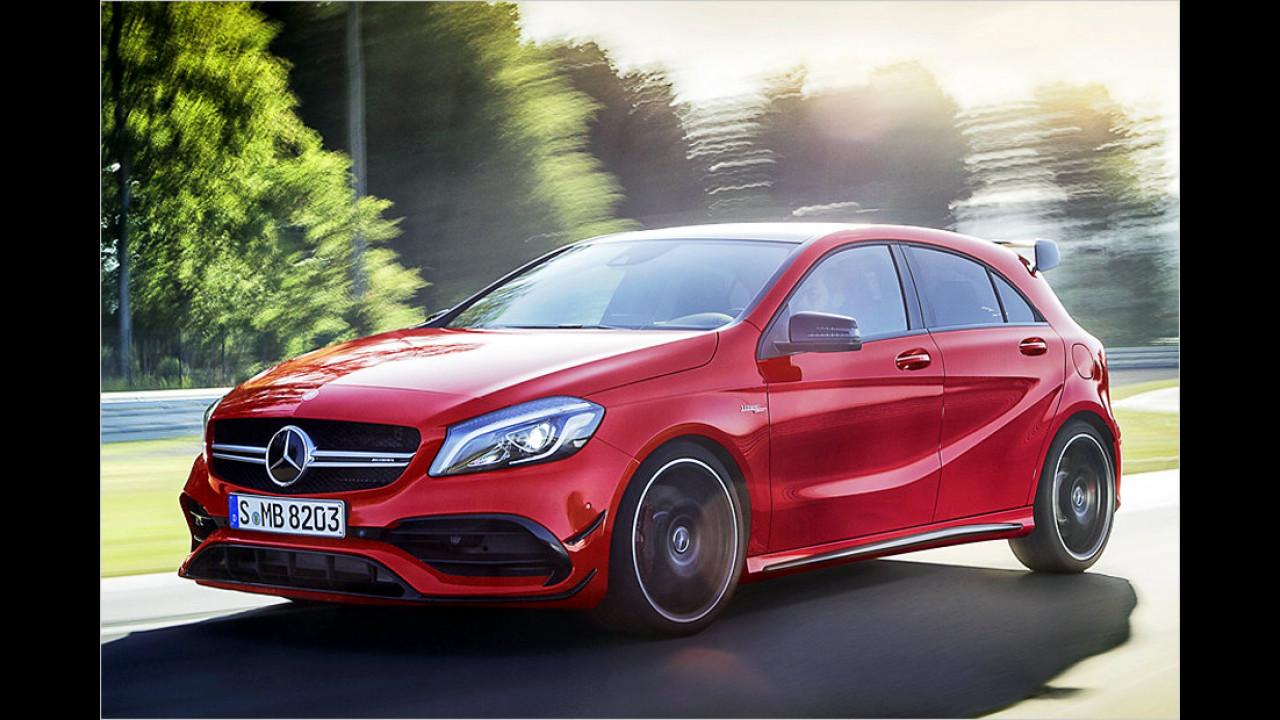 Mercedes-AMG A 45: 4,2 Sekunden