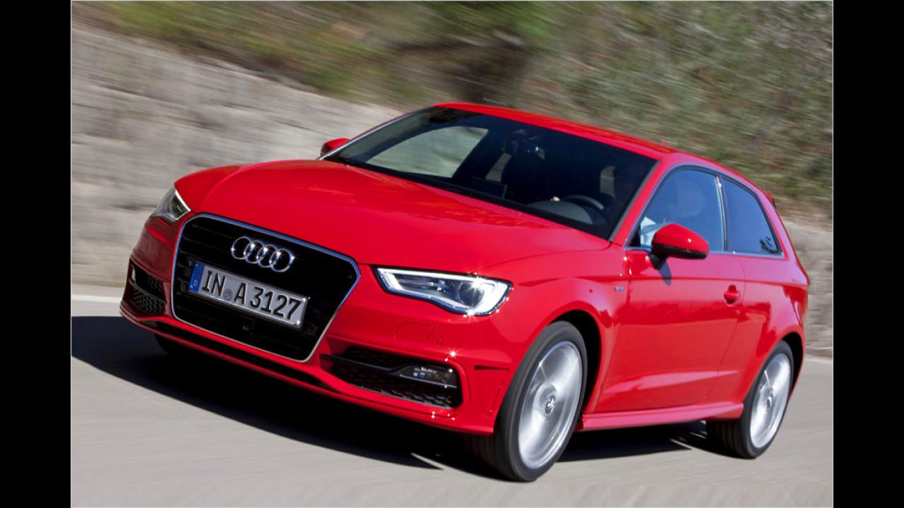 Platz 13: Audi A3 1.6 TDI clean diesel