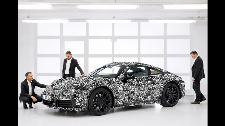 Nuova Porsche 911, le prime foto