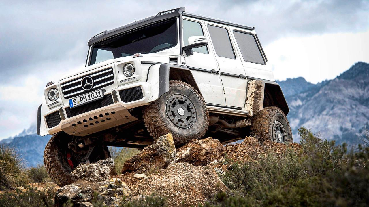 Mercedes G 500 4x4 Quadrat