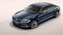 Next generation Volkswagen Phaeton render