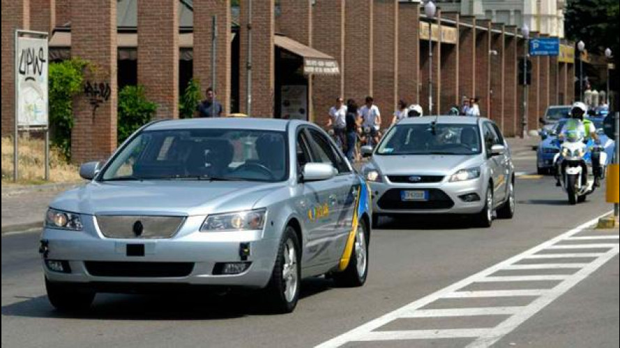 VisLab: a Parma il primo test di guida senza pilota in città