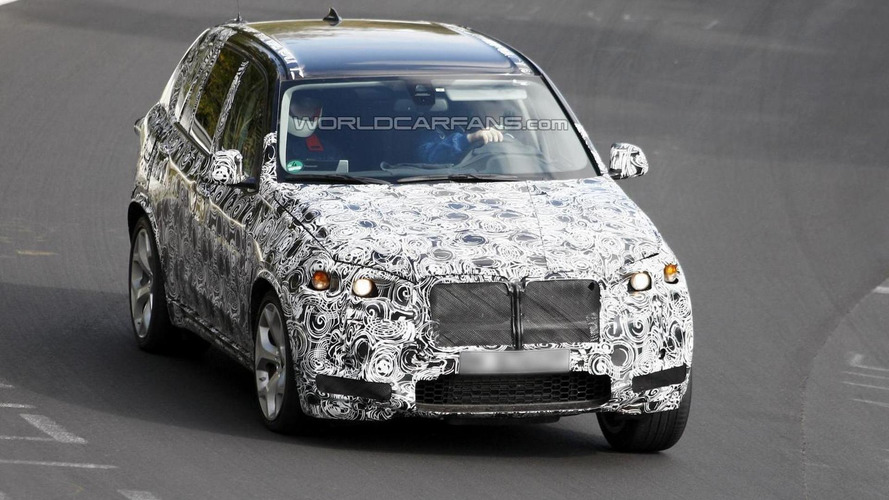 2014 BMW X5 M first spy photos emerge