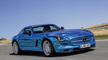 Mercedes-Benz SLS Electric Drive launched in Paris