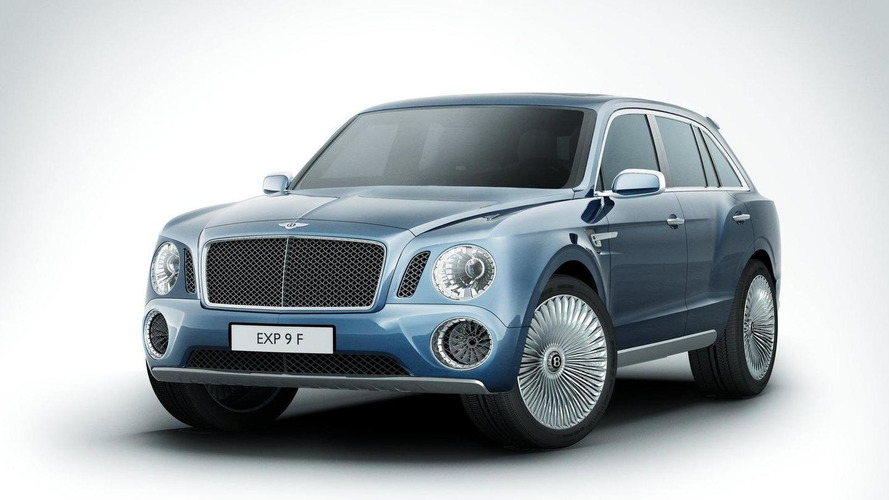 Bentley EXP 9 F concept: New images & video released