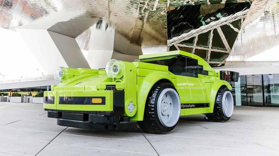 Legóból készült 1:1 méretarányú 911 Turbo a Porsche legújabb dobása