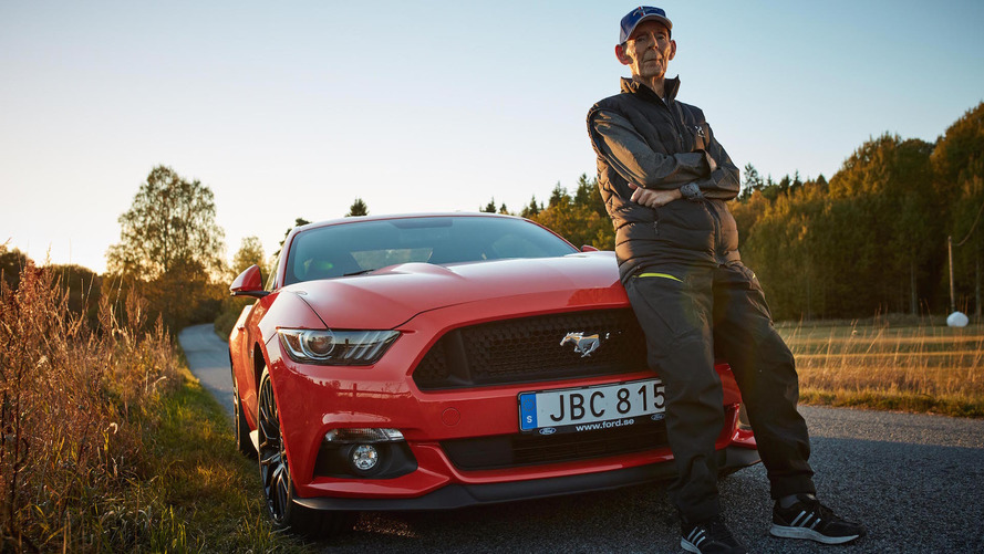 World's oldest Mustang GT driver is 97 years old