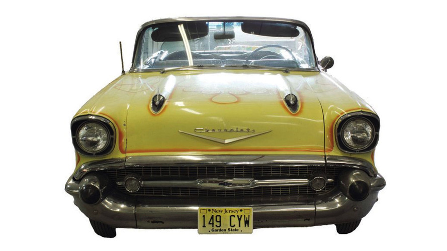Bel Air Auto Auction >> Bruce Springsteen's 1957 Chevy Bel Air sold for $350K at auction