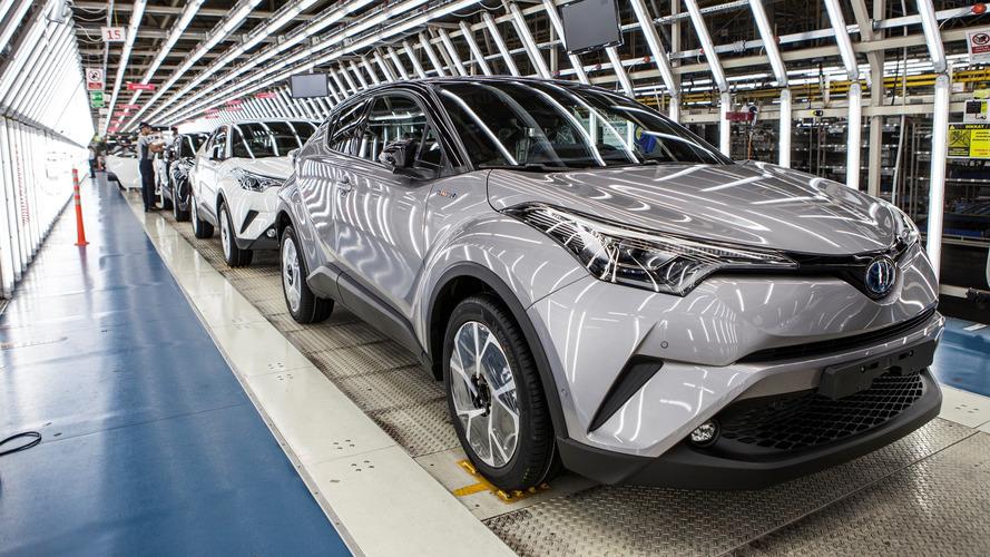 C'est parti pour la production du Toyota C-HR en Europe