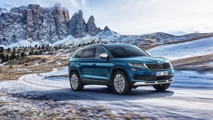 Škoda Kodiaq Scout : look plus robuste et transmission intégrale de série
