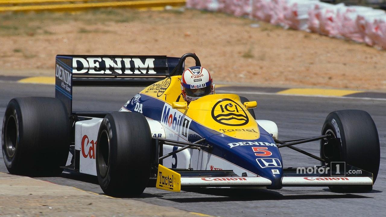 Nigel Mansell, Williams FW10 Honda