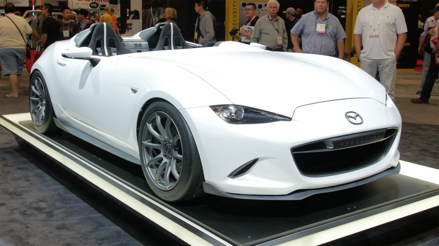 Video: Mazda MX-5 concepts at the 2016 SEMA Show