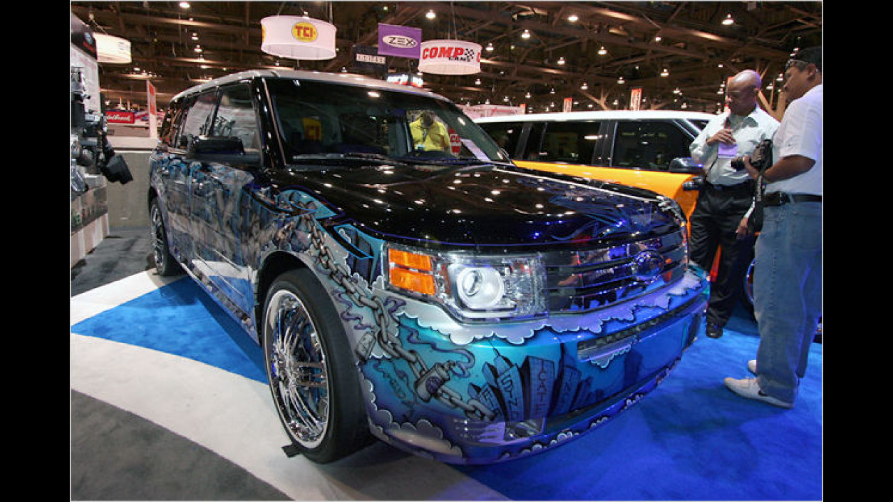 Ford Flex by Kai Koncepts/Air Syndicate Inc.