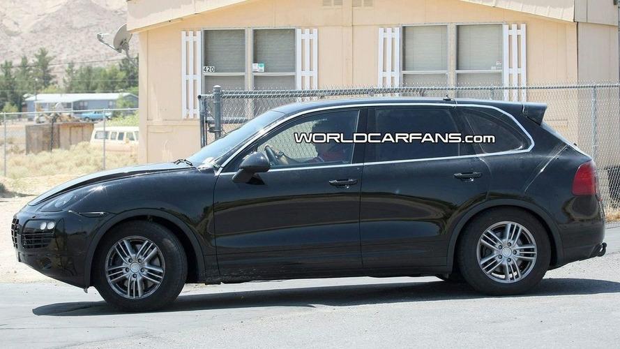 New 2011 Porsche Cayenne Spied Low Riding