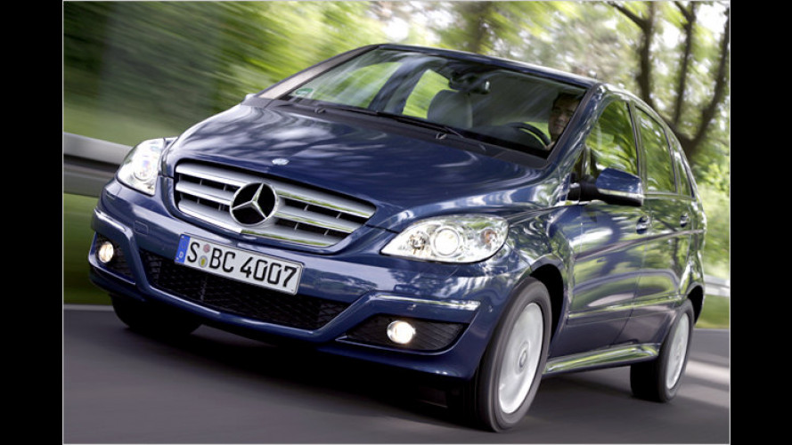 Sparspaß mit Erdgas? Mercedes B 170 NGT BlueEfficiency