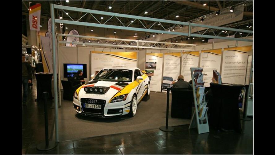 Motorsport für Tuningfans: Der Mentomedia Audi TTS Rallye