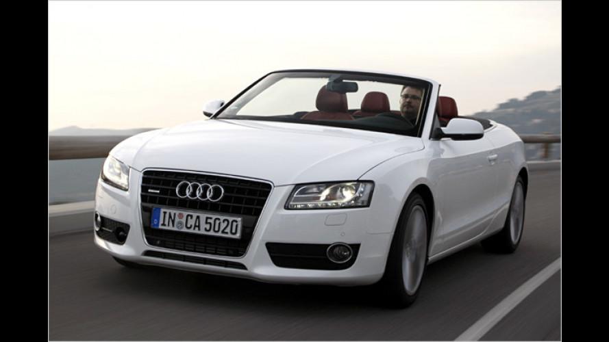 Das neue A5 Cabriolet im Test: Audi gibt wieder Stoff