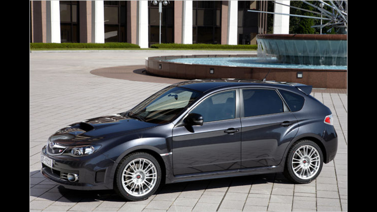 Männerauto: Subaru Impreza WRX STI