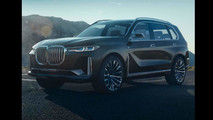 BMW X7 Concept photos en fuite