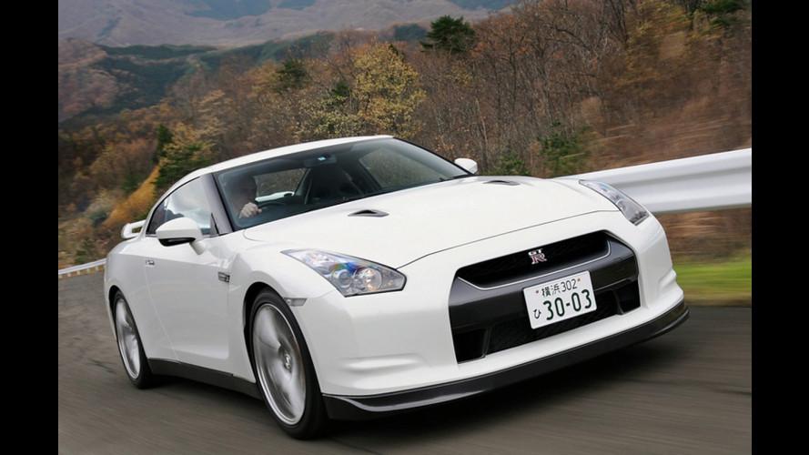 A lezione di Nissan GT-R