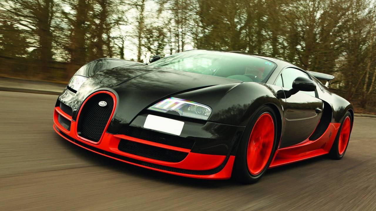 4. Bugatti Veyron