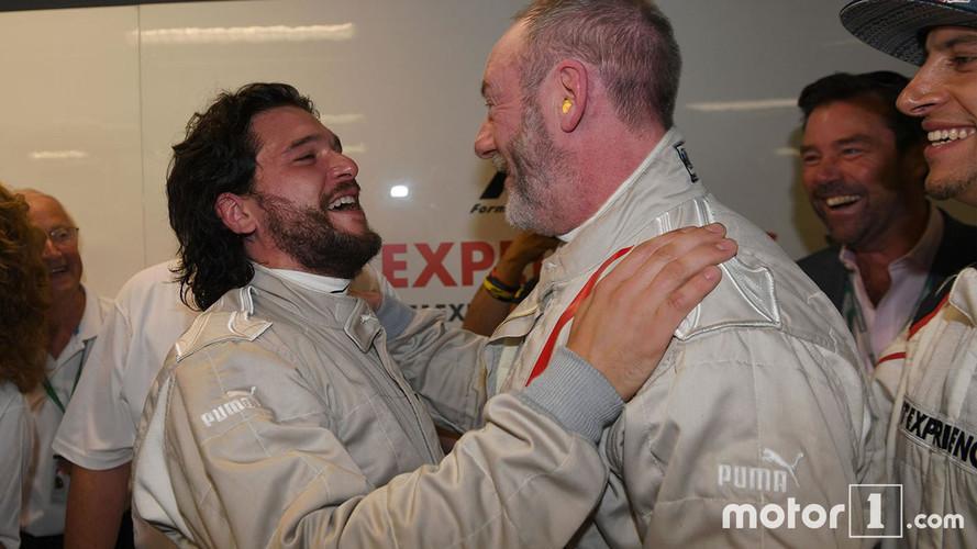 Les héros de Game of Thrones se testent à la F1