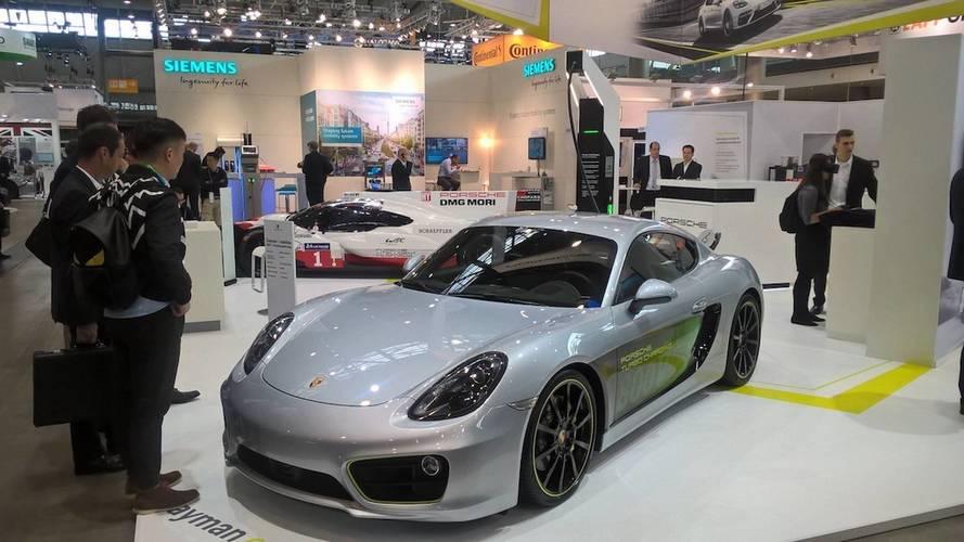Porsche Cayman e-volution konseptiyle tanışın