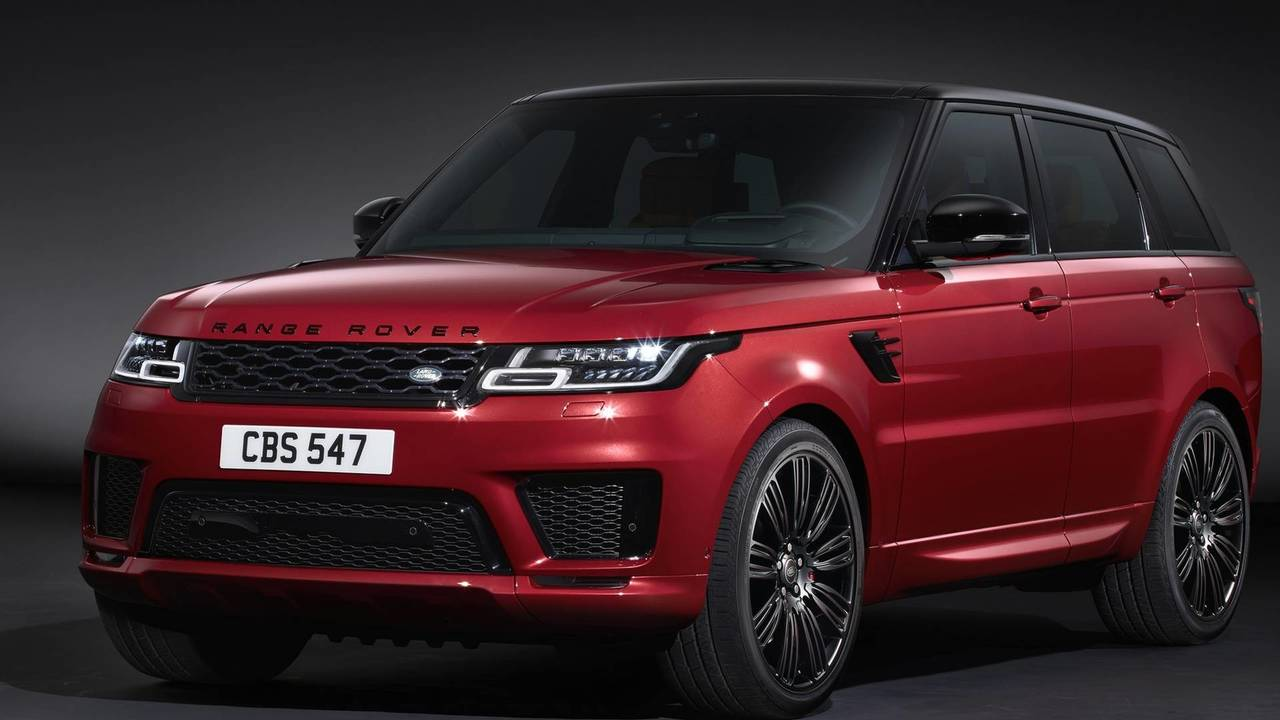 2018 range rover sport debuts plug in hybrid more powerful svr. Black Bedroom Furniture Sets. Home Design Ideas