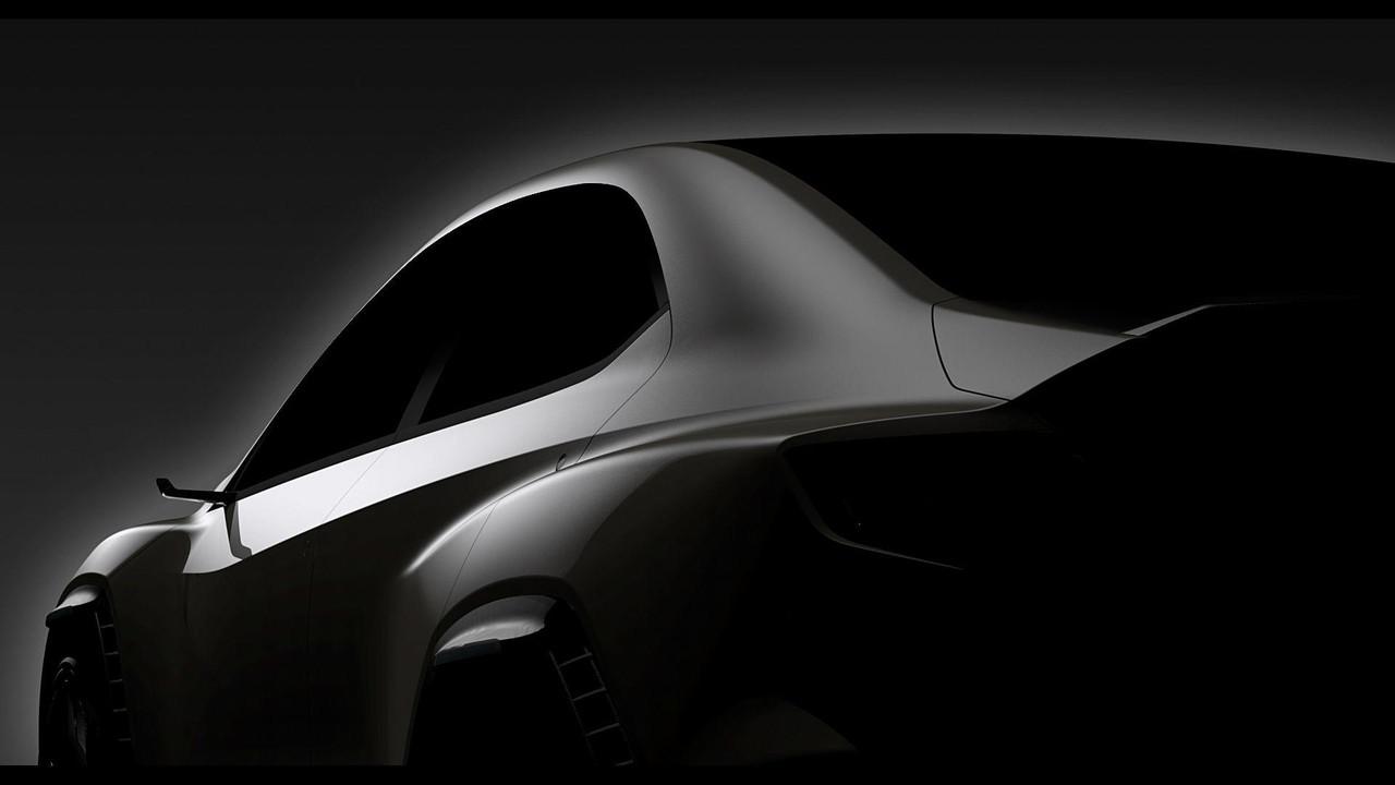 Subaru VIZIV Peformance konsepti teaser'lar