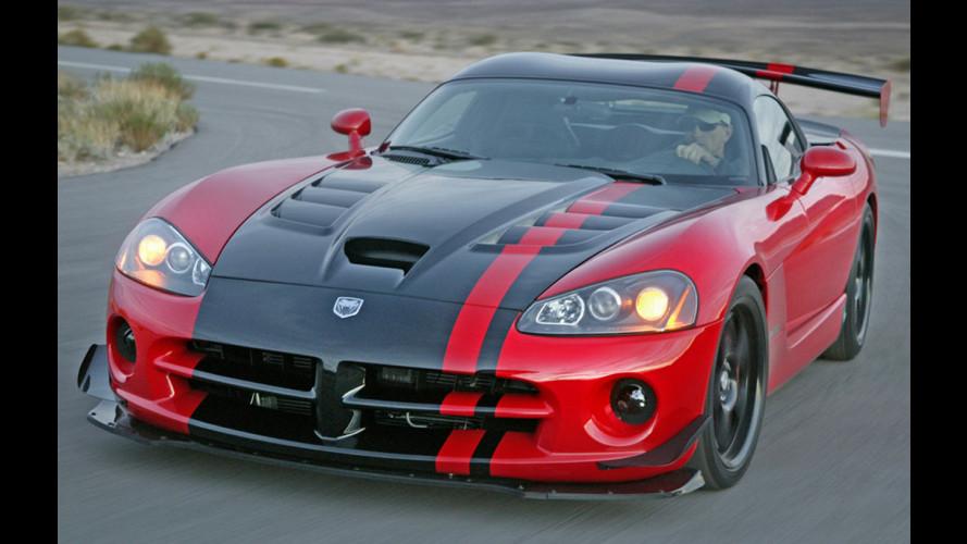 La Dodge Viper ACR percorre il Nurburgring in 7'22