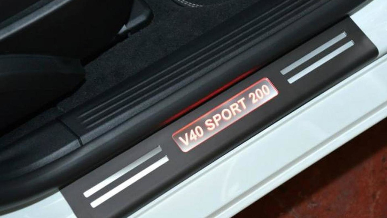 Volvo V40 Sport 200 30.10.2013