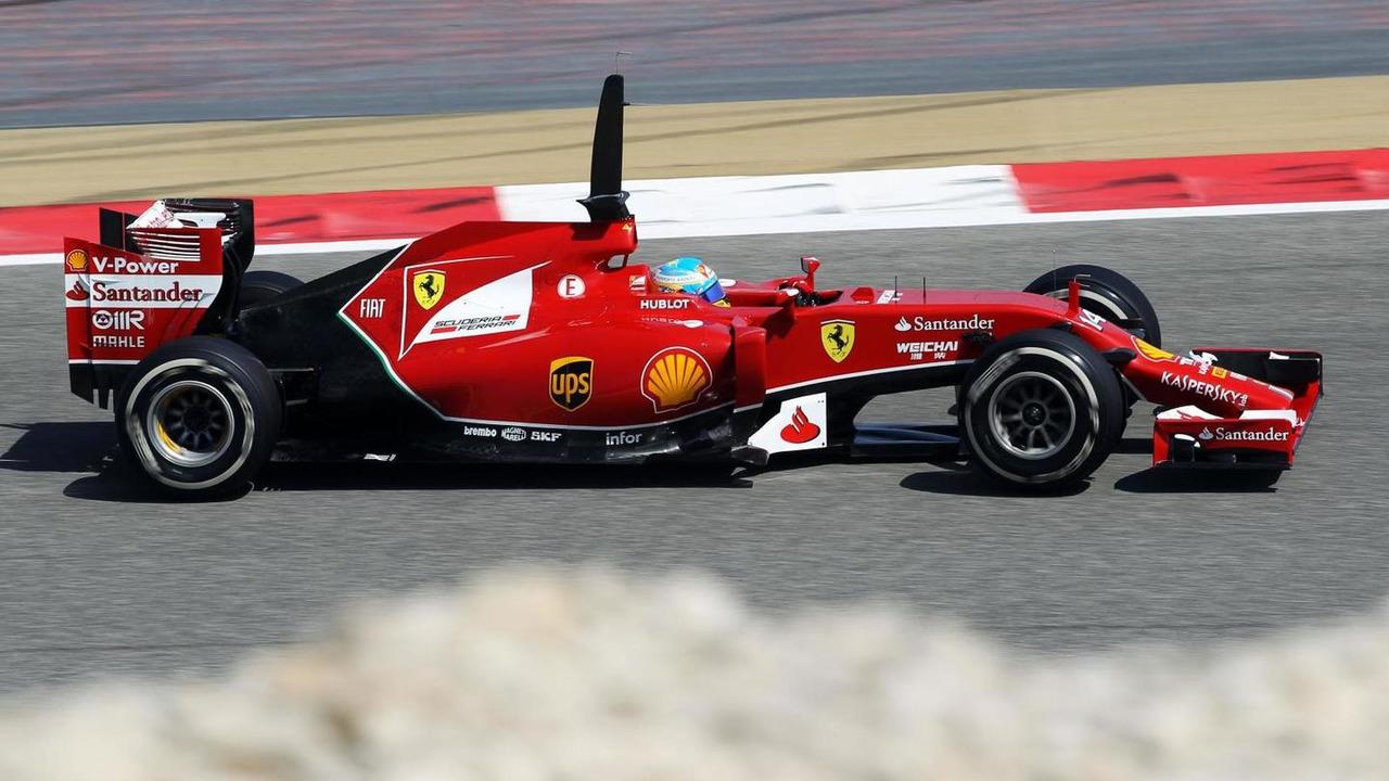 Fernando Alonso 20.02.2014 Formula One Testing Bahrain