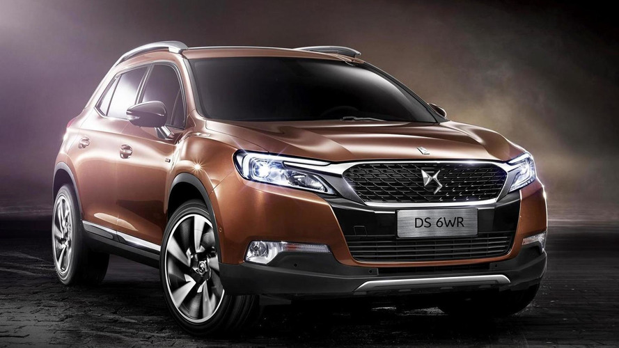 Citroen DS 6WR uncovered, debuts later this week at Beijing Motor Show