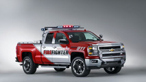 Chevrolet Silverado Black Ops & Z71 Volunteer Firefighter concepts unveiled