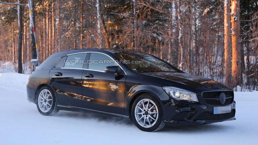 2015 Mercedes-Benz CLA Shooting Brake returns in fresh spy photos