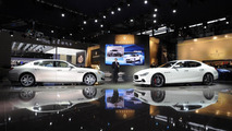 2014 Maserati Ghibli and Quattroporte at 2013 Auto Shanghai
