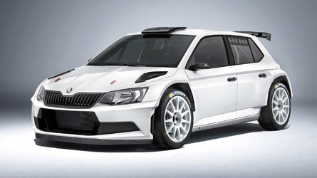 Skoda sells 200th Fabia R5 rally car