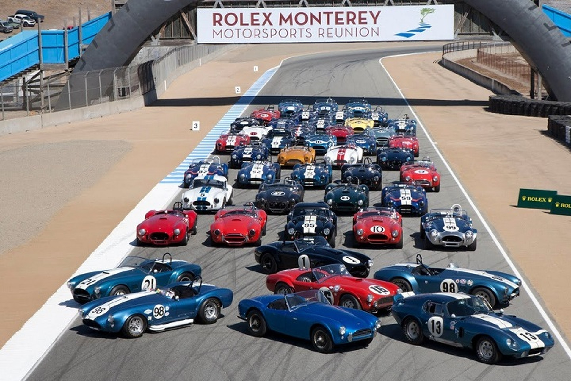 Classic Racecars Take the Field at The Rolex Monterey Motorsports ...