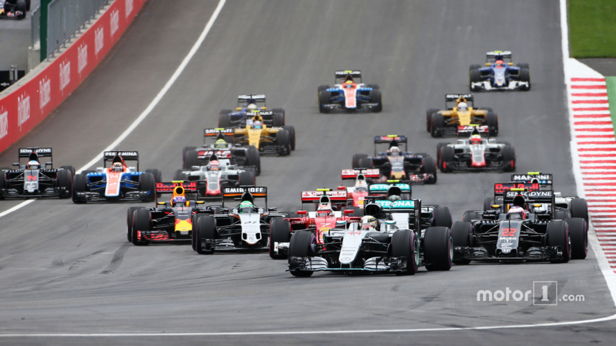 F1 Austrian Grand Prix - Race Results