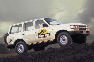 The Real 'Jurassic Park' SUVs Were Actually Toyota Land Cruisers