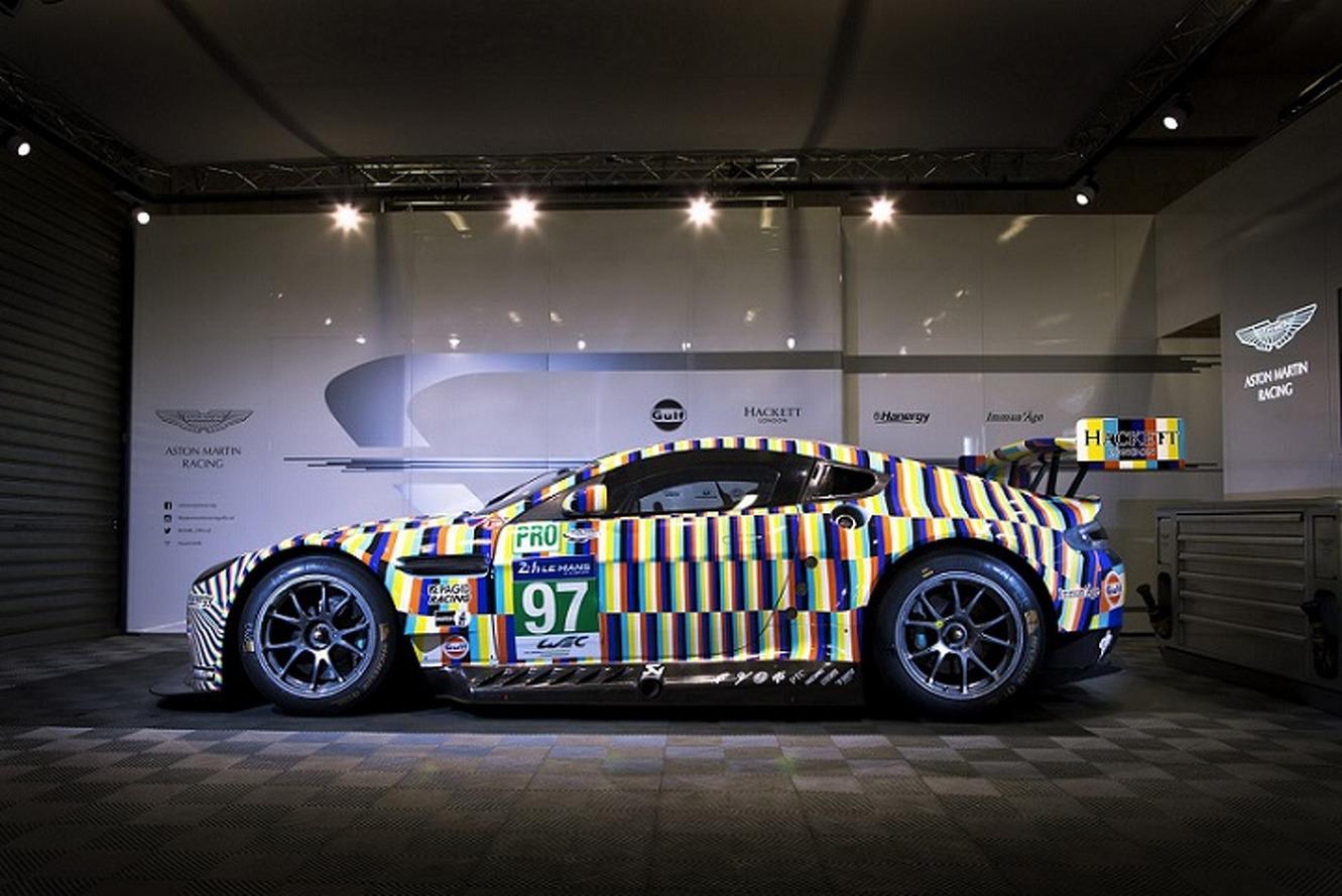 Aston Martin Created an Optical Illusion on Wheels