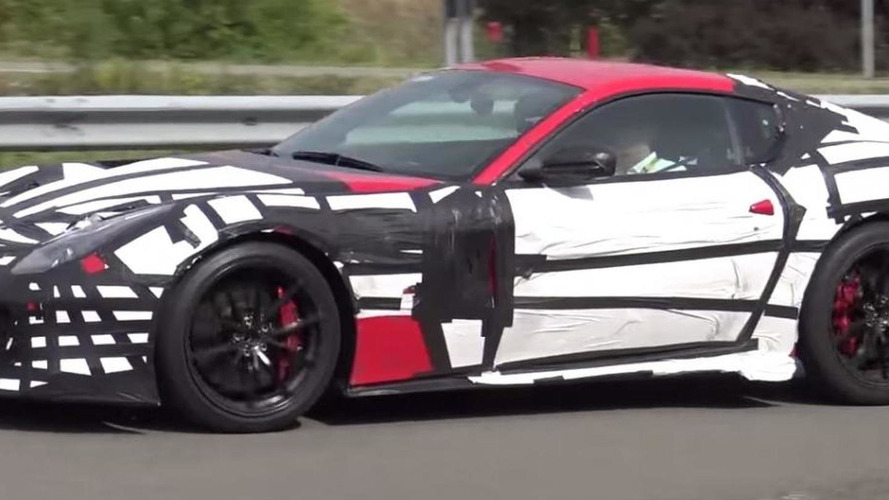 Ferrari F12 Speciale / GTO caught on camera in Maranello [video]