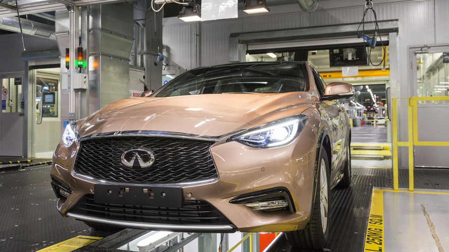 Infiniti Q30 goes into production [video]