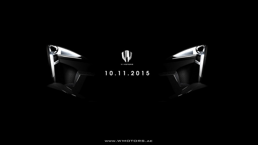 1,000+ PS W Motors Fenyr SuperSport teased ahead of Dubai Motor Show reveal