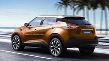 Next-gen Nissan Juke rendered with Gripz and Kicks influences