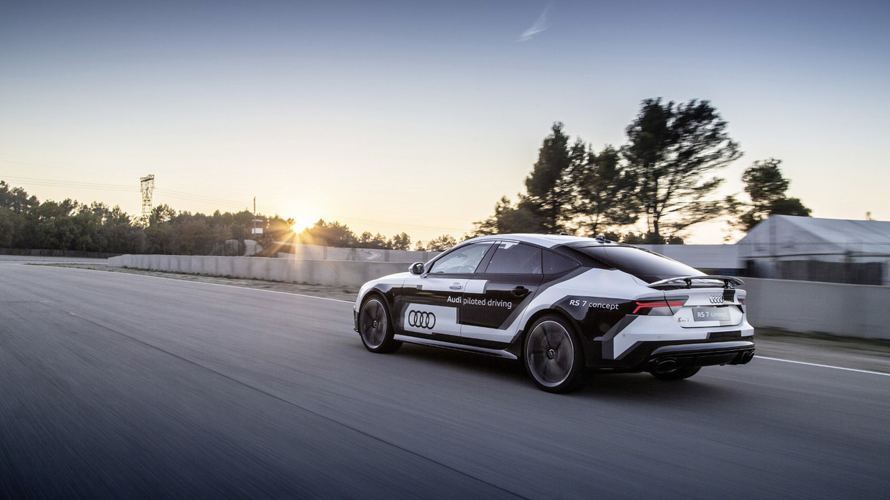 Audi RS 7 piloted driving concept