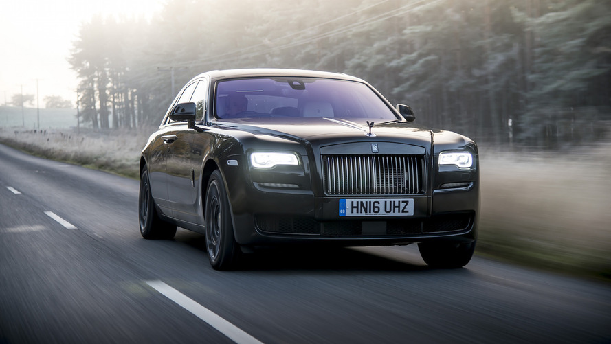 Rolls-Royce Ghost dresses up in Versace for London Fashion Week