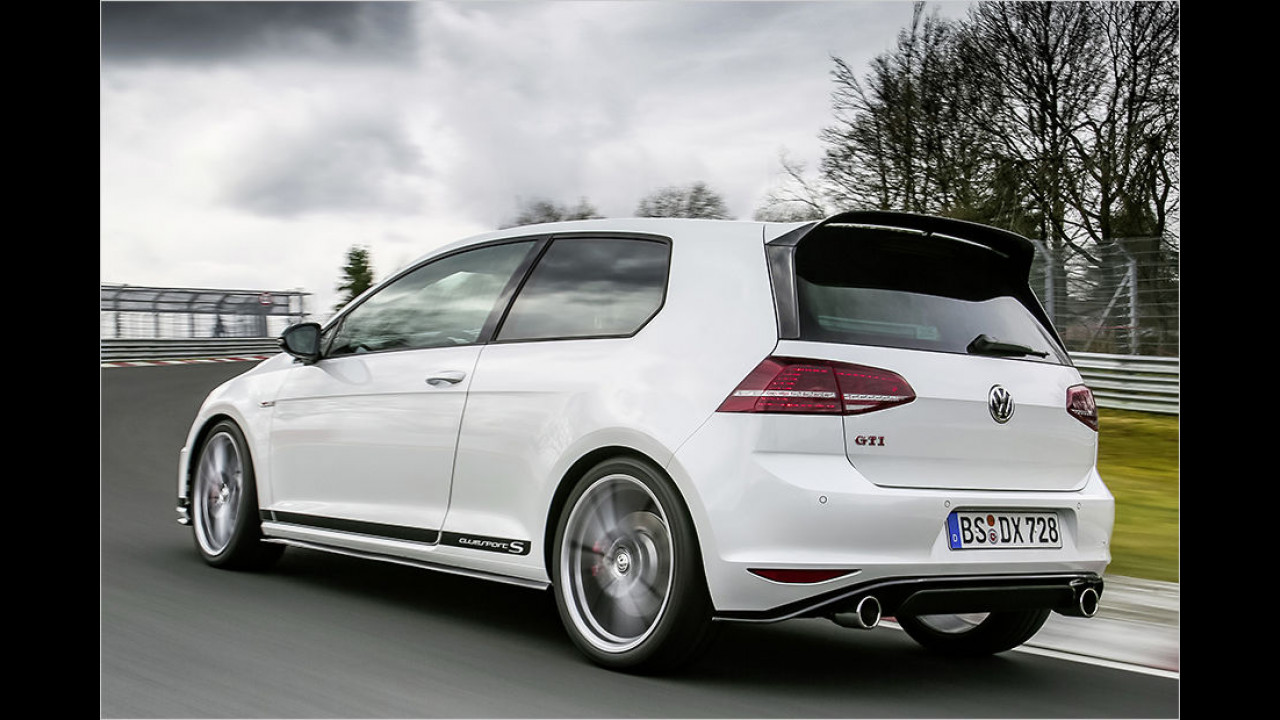 Platz 2: VW Golf GTI Clubsport S 2016